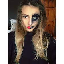 pin up halloween makeup half skeleton u0026 half pin up halloween make up u2013 jegabrelcik