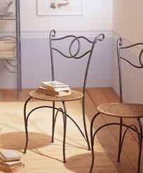 chaises en fer forgé chaise fer forgé mobilier chaise fer forgé fer