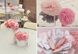pink and grey baby shower pink gray baby shower the umbrella