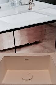 Solid Surface Vanity Tops For Bathrooms by Bathroom Corian Sandalwood Double Sink Vanity Top Corian