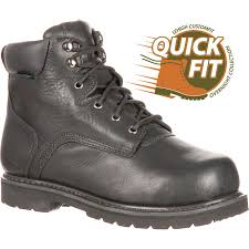 waterproof motorcycle boots sale lehigh unisex steel toe met guard waterproof work boots
