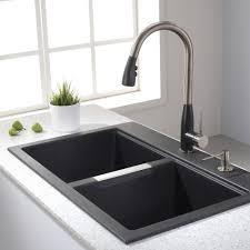 shop danze opulence stainless steel 1 handle pull out giagni fresco stainless steel 1 handle pull down kitchen faucet