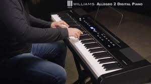 piano deals black friday williams allegro 2 88 key hammer action digital piano youtube