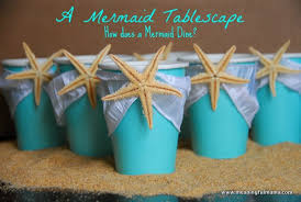 mermaid party ideas mermaid party table decorations
