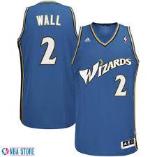 washington wizards 2 john wall slate blue swingman jersey