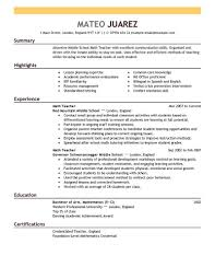 Sample Resume For Esl Teacher by Resume Finance Student Cv Computer Software Programs For Resume