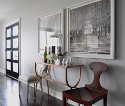 tall side table dining room traditional with light hardwood floors
