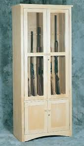 free gun cabinet plans with dimensions free homemade rifle rack plan