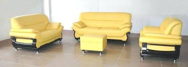 butter yellow leather sofa butter yellow leather chair amazing living room yellow leather sofa