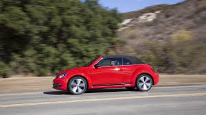 red volkswagen convertible 2014 volkswagen beetle convertible tdi review notes autoweek