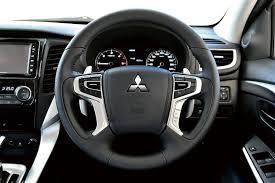 mitsubishi pajero sport 2016 2016 mitsubishi pajero sport steering wheel unveiled indian