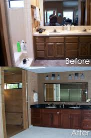 House Renovation Before And After Home Renovation Before After A Better Bath And Kitchen