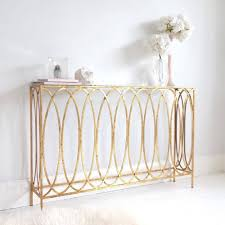 Slim Sofa Table by Slim Gold Console Table Console Tables Consoles And Metals