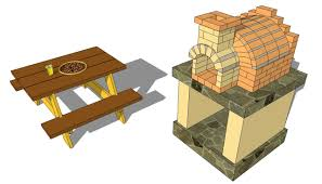 Building An Outdoor Brick Fireplace by Outdoor Pizza Oven Plans Free Braai Areas Pinterest Oven