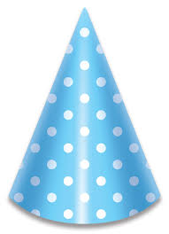 party hats lolliz blue polka dots party hats party supplies