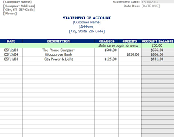 Free Accounting Excel Templates Statement Of Account Template Thebridgesummit Co