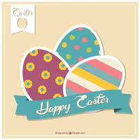 easter decorative template vector free vector download in ai