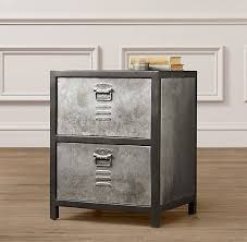 Metal Locker Nightstand Wonderful Metal Locker Nightstand Design Of Metal Locker