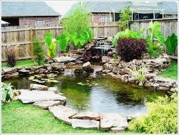 Backyard Pond Designs Small  Backyard And Yard Design For Village - Backyard pond designs small