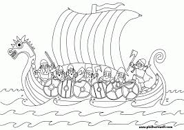 kids coloring pages boats printable easter coloring page viking