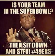 Funny Niner Memes - for all you niner haters fuck you 49ers baby 3 pinterest