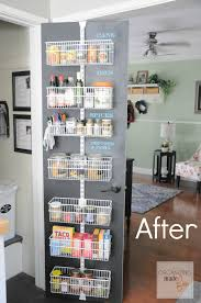 chalkboard pantry door update organizing made fun chalkboard