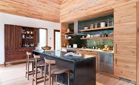 breakfast bar kitchen island wood and glass house in kerhonkson
