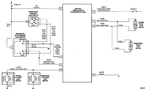 wiring diagram power door lock actuator wiring diagram relay 2