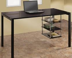 Glass Desk With Storage Desks Office Furniture Free Delivery Dallas Fort Worth