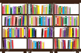 bookshelf royalty free cliparts vectors and stock illustration