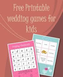 25 wedding games kids ideas kids wedding