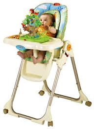 Fisher Price Table High Chair Fisher Price Rainforest Healthy Care High Chair Family From The