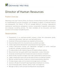 Hr Professional Resume Sample by Hr Manager Job Description Hr Job Description Sample Kit 2 Role