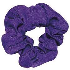 hair scrunchie purple scrunchie in lycra hair scrunchies polyvore