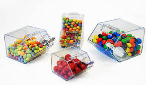 Plastic Candy Containers For Candy Buffet by Mini Bins Small Candy Boxes Party Favor Containers