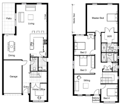 2 story house designs house plans 2 storey house designs and floor plans home plans
