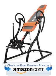 teeter inversion table amazon emer inversion table premium device at a bargain price