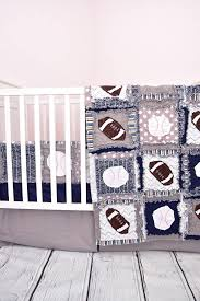 Sport Crib Bedding Sports Crib Bedding Navy Blue Gray Baby Bedding