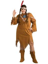 Native Indian Halloween Costumes Indian Maiden Plus Size Costume Native American Costumes