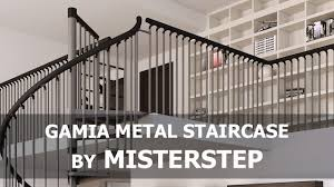 misterstep gamia metal spiral staircase assembly video youtube