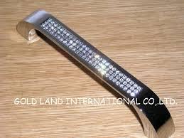 128mm free shipping k9 crystal glass door pull dawer handle