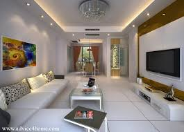 Ceiling Design Ideas For Living Room Cool Pop Ceiling Designs For Narrow Living Room With White