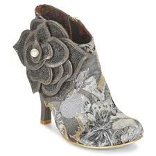 Wedding Shoes Irregular Choice Irregular Choice Wedding Shoes Ivory Ankle Boots Boots