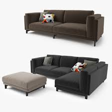 karlstad sofa and chaise lounge model ikea nockeby series sofa