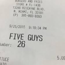 five guys 34 photos 41 reviews burgers 13286 biscayne blvd