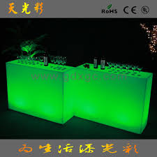 Plastic Tables And Chairs Plastic Table And Modern Style Luminous Mushroom Led Table Cafe