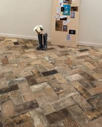 tile floors ideas for kitchen cabinet colors ge cafe double oven