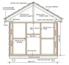 Floor Plans For Sheds 50 Free Diy Shed Plans To Help You Build Your Shed