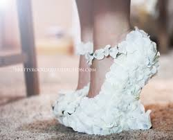 wedding shoes wedges petal wedge wedding shoes bridal shoes made