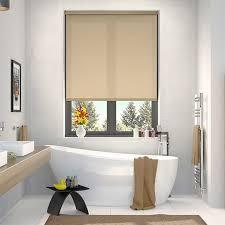 bathroom blind ideas brilliant roller blinds regarding qoo10 roller blind blackout